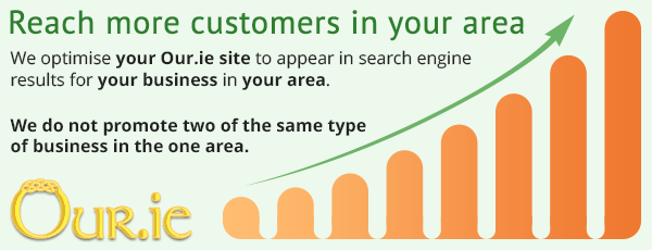 Reach more potential customers with Our.ie